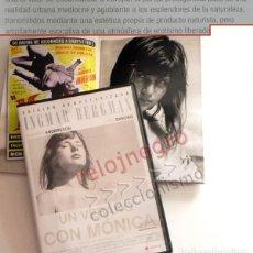 Cine: UN VERANO CON MÓNICA DVD Y LIBRETO - INGMAR BERGMAN - HARRIET ANDERSSON LARS EKBORG DESPERTAR SEXUAL. Lote 157222558