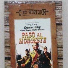 Cine: PASO AL NOROESTE - SPENCER TRACY - DVD PRECINTADO - ESTUCHE CARTON . Lote 157225574