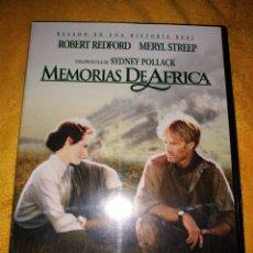 Cine: MEMORIAS DE AFRICA. Lote 157330553