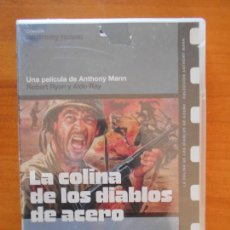 Cine: DVD LA COLINA DE LOS DIABLOS DE ACERO - NUEVA, PRECINTADA (9B). Lote 157356170