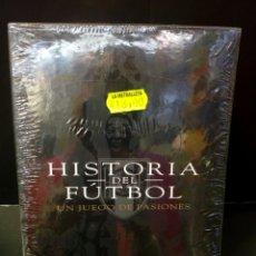 Cine: HISTORIA DEL FÚTBOL UN JUEGO DE PASIONES DVD DOCUMENTAL. Lote 157425642