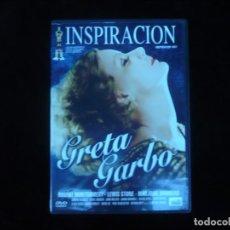 Cine: INSPIRACION GRETA GARBO - DVD COMO NUEVO. Lote 157522482