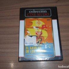Cine: EL GAVILAN DE LOS MARES DVD DE FRANK LLOYD CINE MUDO NUEVA PRECINTADA. Lote 179386255
