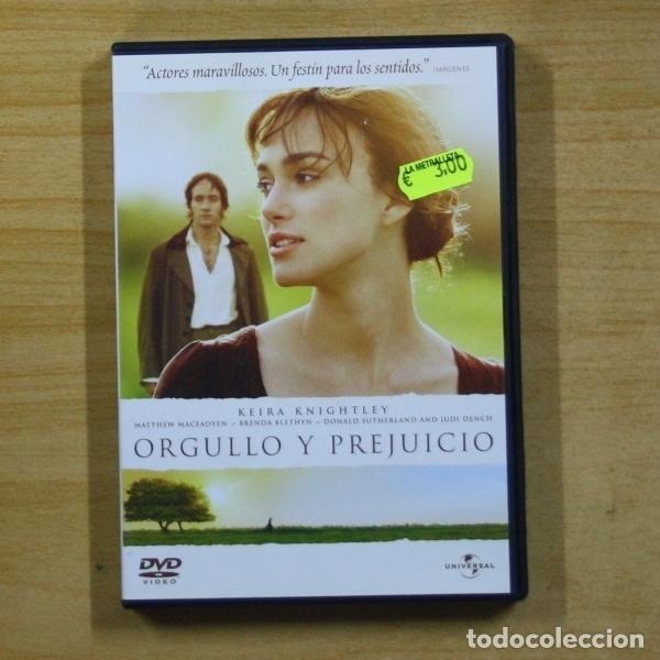 ORGULLO Y PREJUICIO - DVD (Cine - Películas - DVD)