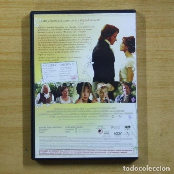 Cine: ORGULLO Y PREJUICIO - DVD - Foto 2 - 157695404