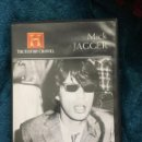 Cine: MICK JAGGER / THE HISTORY CHANNEL / DVD . Lote 157714046