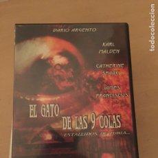 Cine: EL GATO DE LAS 9 COLAS - DARIO ARGENTO DVD. Lote 157761636