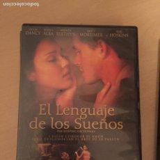 Cine: EL LENGUAJE DE LOS SUEÑOS DVD. Lote 157765712