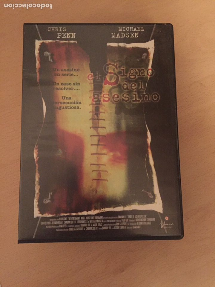 EL SIGNO DEL ASESINO DVD (Cine - Películas - DVD)