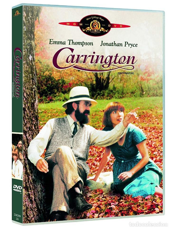 CARRINGTON DVD (PRECINTADO). DIFÍCIL DE ENCONTRAR!!. EMMA THOMPSON Y JONATHAN PRYCE (Cine - Películas - DVD)