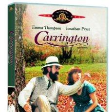 Cine: CARRINGTON DVD (PRECINTADO). DIFÍCIL DE ENCONTRAR!!. EMMA THOMPSON Y JONATHAN PRYCE. Lote 157824782