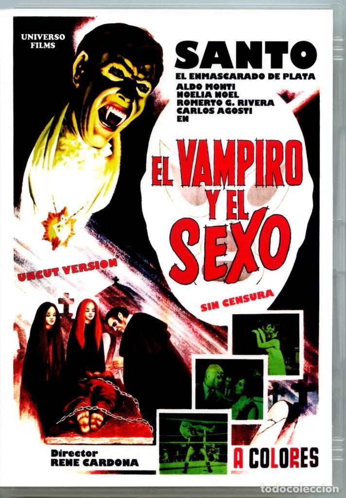 EL VAMPIRO Y EL SEXO (DVD PRECINTADO IMPORTACIÓN) VERSION UNCUT SIN CENSURA TERROR DE CULTO SANTO (Cine - Películas - DVD)