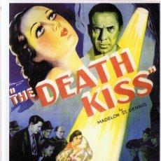 Cine: THE DEATH KISS BELA LUGOSI . Lote 157955566