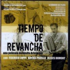 Cine: TIEMPO DE REVANCHA DVD (ADOLFO ARISTARAIN) ..CÓMO SIMULAR UN ACCIDENTE Y COBRAR DEL SEGURO, PERO..... Lote 245138365