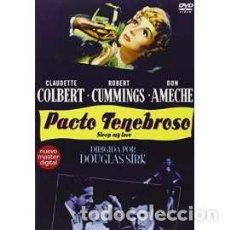 Cine: PACTO TENEBROSO DVD [DVD]. Lote 158032501