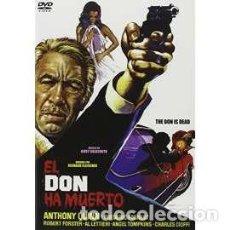 Cine: EL DON HA MUERTO (DVD). Lote 158046505