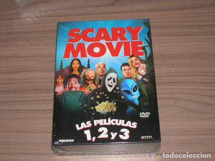 TRILOGIA COLECCION SCARY MOVIE 1 , 2 Y 3 EDCION ESPECIAL 3 DVD NUEV PRECINTADA (Cine - Películas - DVD)