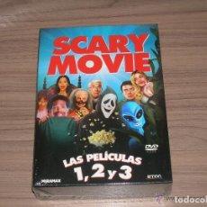 Cine: TRILOGIA COLECCION SCARY MOVIE 1 , 2 Y 3 EDCION ESPECIAL 3 DVD NUEV PRECINTADA. Lote 211518094