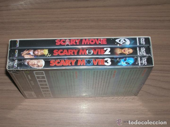Cine: TRILOGIA Coleccion SCARY MOVIE 1 , 2 y 3 Edcion Especial 3 DVD Nuev PRECINTADA - Foto 2 - 211518094