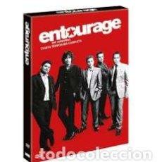 Cine: ENTOURAGE (EL SEQUITO): CUARTA TEMPORADA COMPLETA (DVD). Lote 158057217