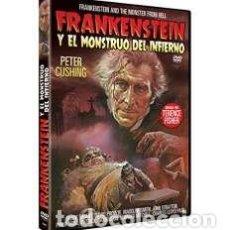 Cine: FRANKENSTEIN Y EL MONSTRUO DEL INFIERNO (DVD). Lote 158062808