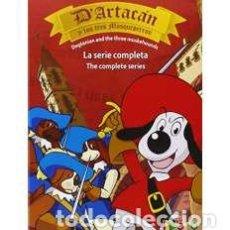 Cine: D ARTACÁN Y LOS TRES MOSQUEPERROS (DVD). Lote 158068305