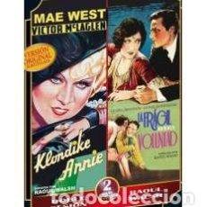 Cine: KLONDIKE ANNIE + LA FRAGIL VOLUNTAD (SADIE THOMPSON) 2 DVD [DVD]. Lote 158080282