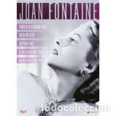 Cine: PACK JOAN FONTAINE (DVD). Lote 158029853