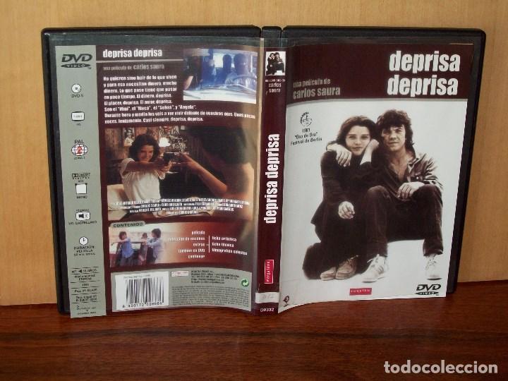 DEPRISA, DEPRISA - JOSE ANTONIO VALDELOMAR - DIRIGIDA POR CARLOS SAURA (Cine - Películas - DVD)