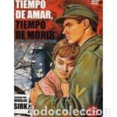 Cine: TIEMPO DE AMAR, TIEMPO DE MORIR [DVD] [DVD]. Lote 158052889