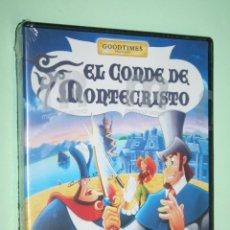 Cine: EL CONDE DE MONTECRISTO *** DVD CINE DIBUJOS ANIMADOS / INFANTIL *** MANGA FILMS (PRECINTADO). Lote 158203174