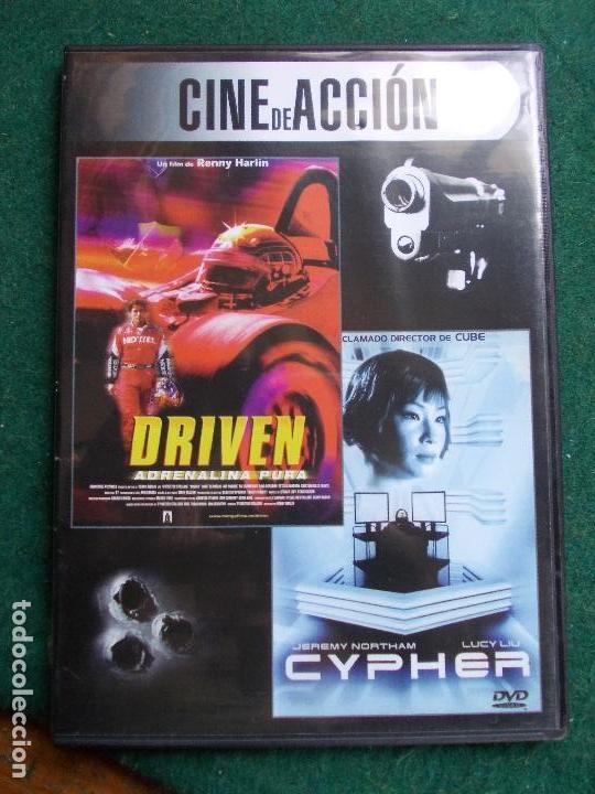 CINE DE ACCIÓN 2 PELICULAS EN UNA (Cine - Películas - DVD)