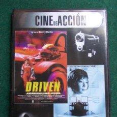 Cine: CINE DE ACCIÓN 2 PELICULAS EN UNA. Lote 158215334