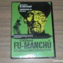 Cine: EL REGRESO DE FU-MANCHU DVD TERROR CHRISTOPHER LEE 1ª EDICION MANGA FILMS COMO NUEVA. Lote 165321369