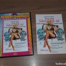 Cine: YO SOY FULANA DE TAL DVD COCHITA VELASCO ANTONIO FERRANDIS FERNANDO F. GOMEZ COMO NUEVA. Lote 255538070