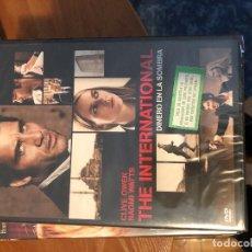 Cine: THE INTERNATIONAL DINERO EN LA SOMBRA DVD PREC CAJA LEROY 2. Lote 158358778