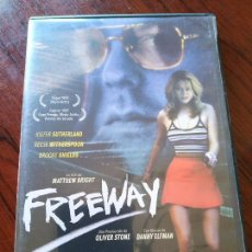 Cine: DVD --- FREEWAY : CAPERUCITA ROJA MODERNA --- CON KIEFER SUTHERLAND Y REESE WITHERSPOON. Lote 158528566