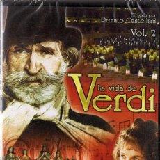 Cine: LA VIDA DE VERDI VOL. 2 (PRECINTADO). Lote 158590262