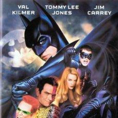 Cine: BATMAN FOREVER VAL KILMER TOMMY LEE JONES JIM CARREY . Lote 158592394