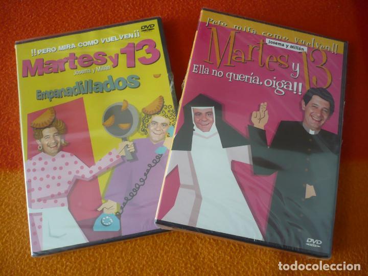 MARTES Y 13 ELLA NO QUERIA OIGA + EMPANADILLADOS ( JOSEMA Y MILLAN ) ¡PRECINTADO! DVD HUMOR COMEDIA (Cine - Películas - DVD)