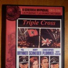 Cine: CINE BÉLICO EN DVD - LA SEGUNDA GUERRA MUNDIAL EN EL CINE 21 - TRIPLE CROSS - SLIM. Lote 158760170