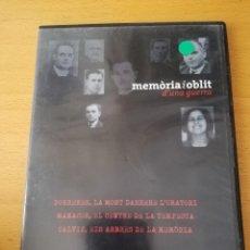 Cine: MEMÒRIA I OBLIT D'UNA GUERRA Nº 3: PORRERES / MANACOR / CALVIÀ (DVD). Lote 158829266