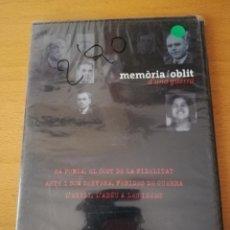 Cine: MEMÒRIA I OBLIT D'UNA GUERRA Nº 10: SA POBLA / ARTÀ I SON SERVERA / L'EXILI (DVD PRECINTADO). Lote 158830834