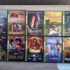 Cine: 10 PELÍCULASEN DVD, CINE HISTORICO DE AVENTURAS, GRUPO Z. VER TÍTULOS EN FOTOS . Lote 158830850