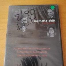 Cine: MEMÒRIA I OBLIT D'UNA GUERRA Nº 9: VILAFRANCA / MESTRES DE LA REPÚBLICA / CAMPOS (DVD PRECINTADO). Lote 158831094