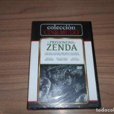 Cine: EL PRISIONERO DE ZENDA DVD CINE MUDO LEWIS STONE NUEVA PRECINTADA. Lote 288867878