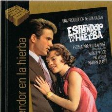 Cine: ESPLENDOR EN LA HIERBA NATALIE WOOD (LIBRO DVD). Lote 159416030
