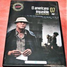 Cine: DVD - EL AMERICANO IMPASIBLE - DIR. PHILLIP NOYCE. Lote 159425126
