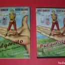 Cine: DVD PULGARCITO ( EL PEQUEÑO GIGANTE) PERSONAJES REALES 1958 EN ESPAÑOL 97MIN. . Lote 159457498