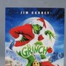 Cine: DVD. EL GRINCH . Lote 159584210